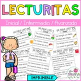 LECTURITAS/ SPANISH READING SHORT PASSAGES