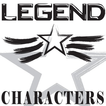 LEGEND Characters Organizer (by Marie Lu)