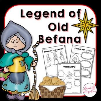 LEGEND OF OLD BEFANA BY TOMIE DePAOLA