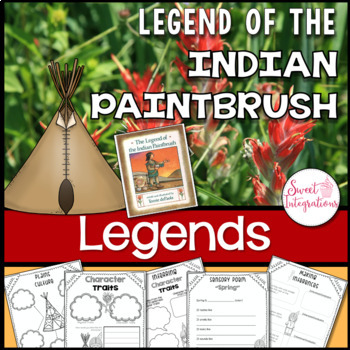 LEGEND OF THE INDIAN PAINTBRUSH - Book Study, Posters and Wildflower Research