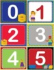 LEGO ABC/123 Number and Letter Cards Shelf Labels