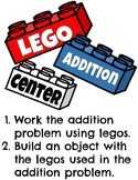 LEGO Addition Cards