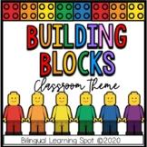 EDITABLE LEGO BLOCK Classroom Theme