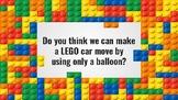 LEGO Balloon Car Racer