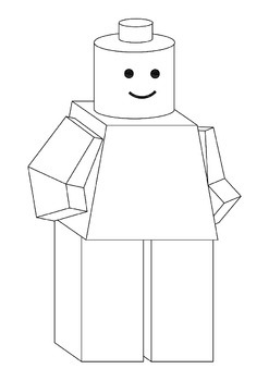 LEGO - Build a 3D paper Lego Man