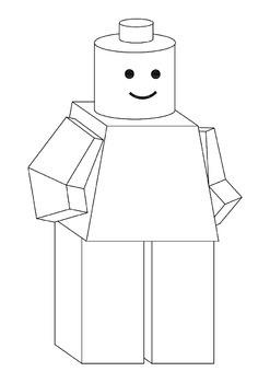 LEGO - Build a 3D paper Lego Man