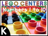 LEGO CENTERS building Numbers 1 to 10 English & Spanish