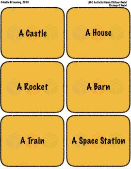 LEGO COLLABORATIVE STEM STEAM ACTIVITY