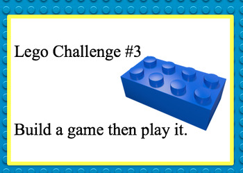 LEGO Challenge Cards Part 2