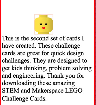 LEGO Challenge Cards Part 2