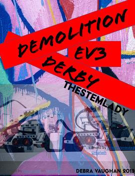 LEGO EV3 Demolition Derby with Excel Scoresheet Activity