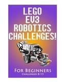LEGO EV3 ROBOTICS CHALLENGES FOR BEGINNERS (PART 2)