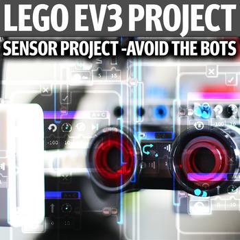 LEGO EV3 Sensors Project - Avoid The Bots