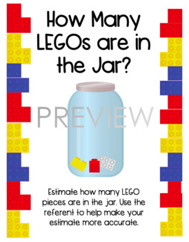 LEGO Estimation Station