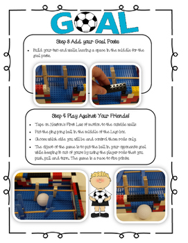 LEGO Stem Challenge - Foosball Forces and Motion!