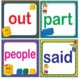 LEGO Like Fry First 1st 100 Sight Words Flash Cards, Letters and Numbers