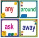 LEGO Like Fry Second 2nd 100 Sight Words Flash Cards, Letters and Numbers