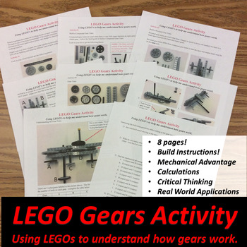LEGO Gears Activity