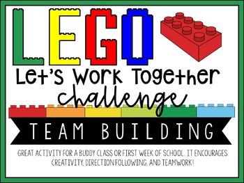 LEGO Let's Work Together Challenge!