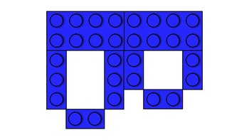 LEGO Letters- Blue