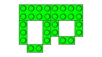 LEGO Letters- Green