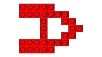 LEGO Letters - Red