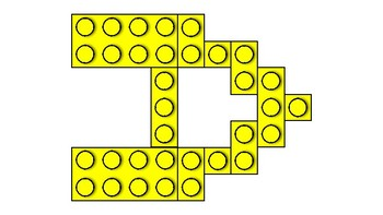 LEGO Letters- Yellow