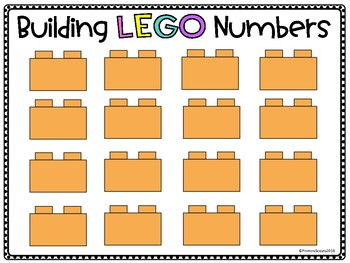 LEGO Letters and Number Formation