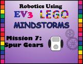 LEGO MINDSTORMS Mission #6: Spur Gears