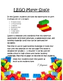 LEGO MakerSpace Building Lesson, STEM Engineering Challeng