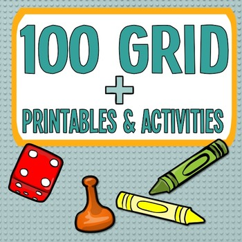 100 Grid Printables + Activities!