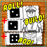 """Roll! Build! Add! (an """"Adding 3 Numbers"""" activity)"""