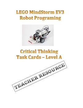 LEGO MindStorm EV3 Robot -  Challenge Task Cards Set A TEACHER RESOURCE