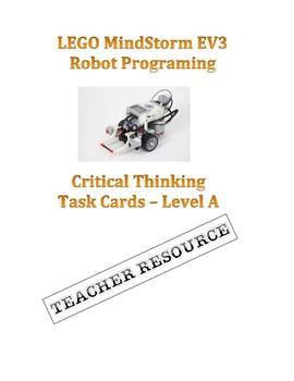 LEGO MindStorm EV3 Robot -  Challenge Task Cards Set A TEACHER RESOURCE