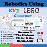 Robotics Using LEGO MindStorms EV3: The Medium Motor
