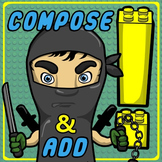 Number Ninjas – Printables for Composing, Decomposing & Adding Numbers!