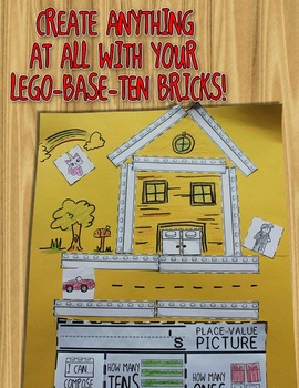 Place Value Pictures -- Compose & Decompose Numbers with Base-Ten Bricks