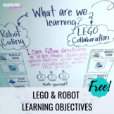 LEGO & Robot Learning Objectives for STEM and Technology