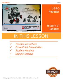 LEGO Robotics 1: History of Robotics
