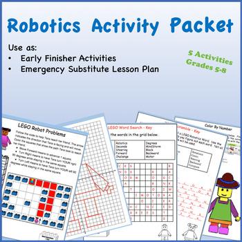 Free Robotics Worksheets | Teachers Pay Teachers