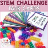 Lego Building Bricks STEM Challenge Task Cards