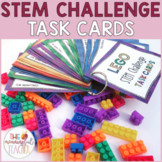 Building Bricks STEM Challenge Task Cards   Digital & Prin