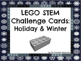 LEGO STEM Challenge Task Cards: Holiday and Winter