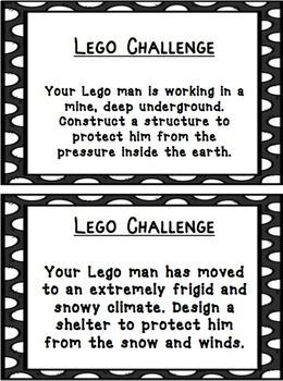 LEGO STEM/STEAM Challenges Part 2