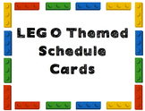 LEGO Schedule Cards