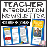 Teacher Introduction Letter to Parents EDITABLE LEGO Theme - PowerPoint