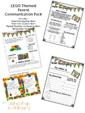 LEGO Themed Parent Communication Pack