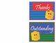 LEGO Like Way to Go - Thank You Cards - EDITABLE