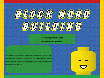 Block Word Building