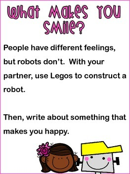 LEGO Writing Prompts 4th Grade STARR